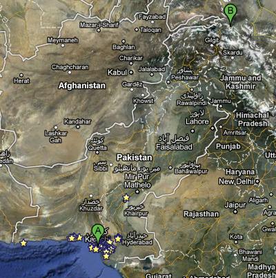 Karachi to Khunjerab