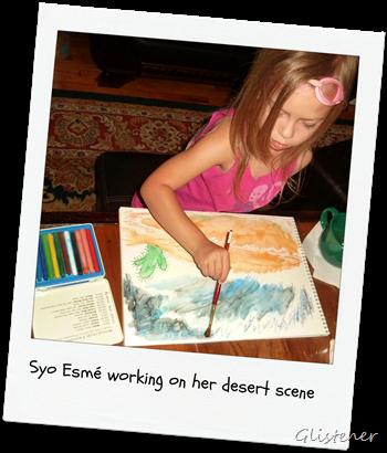 Painting Desert