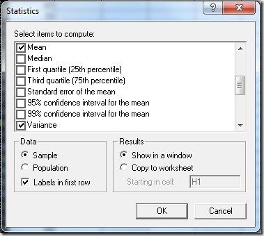F38 Statistics