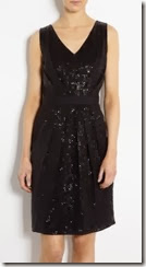 Moschino Cheap and Chic Panel Sequin Dress