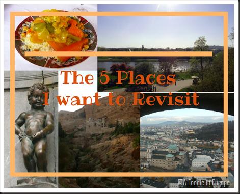 5 places I would revisit