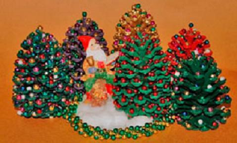 Navidad fichas con manualidades para regalar for Manualidades navidad con pinas