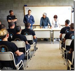 El acto tuvo lugar en las instalaciones de la Escuela de Policía de La Costa