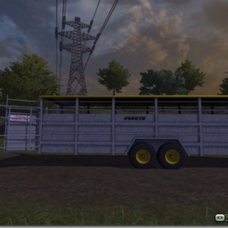 Farming simulator 2013 - Cattle Trailer