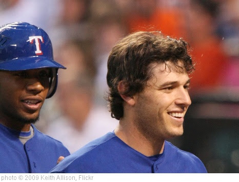 'Ian Kinsler' photo (c) 2009, Keith Allison - license: https://creativecommons.org/licenses/by-sa/2.0/