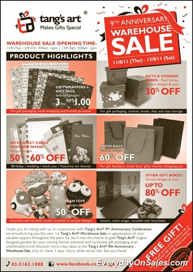 Tangs-Art-Warehouse-sales-2011-EverydayOnSales-Warehouse-Sale-Promotion-Deal-Discount