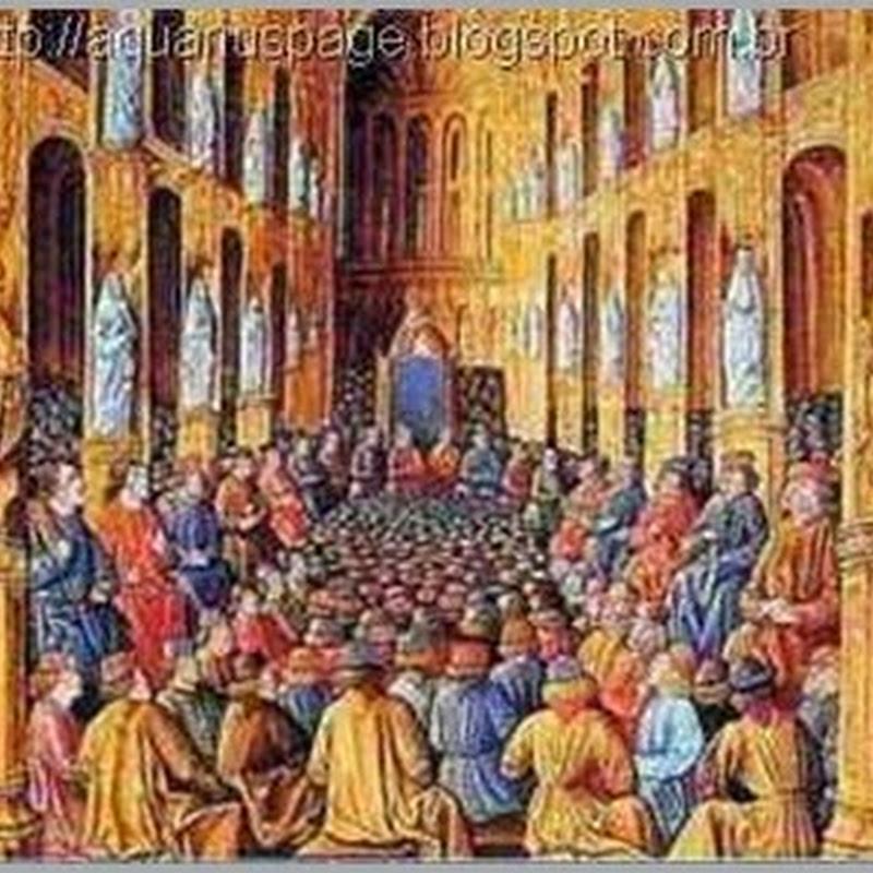 O Concílio de Constantinopla e a Reencarnação