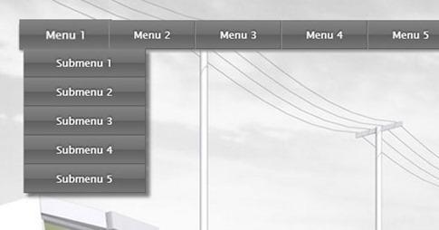 Cómo diseñar un menú desplegable con categorías