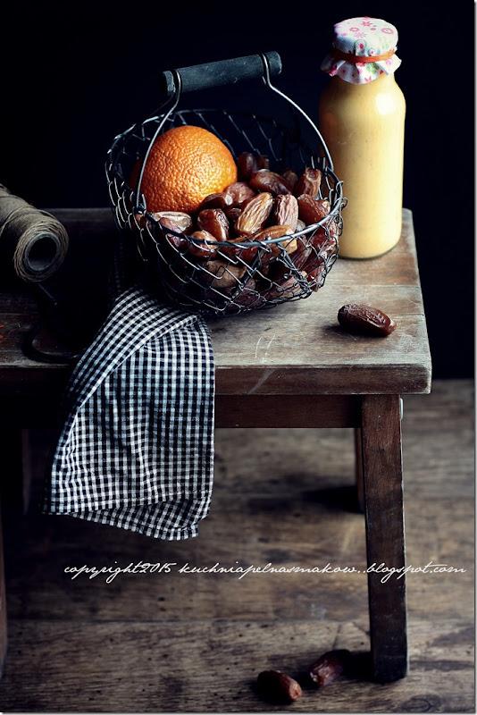 daktyle, mandarynki i jogurt grecki - koktajl (6)