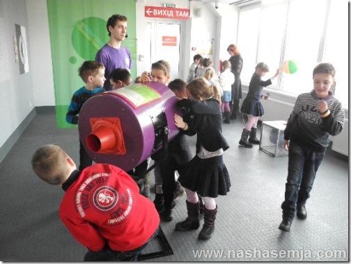 Музеи Киева: Воздушная пушка