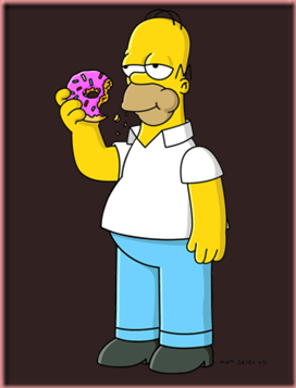 Homer Simpson by Matt Groening