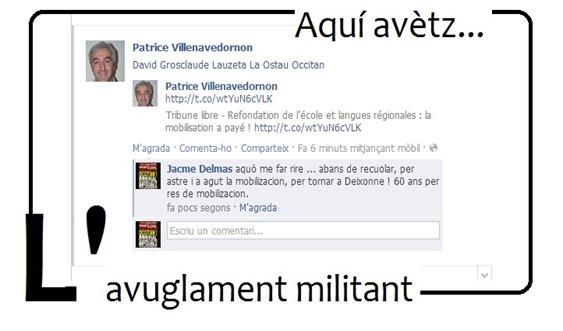 Avuglament militant