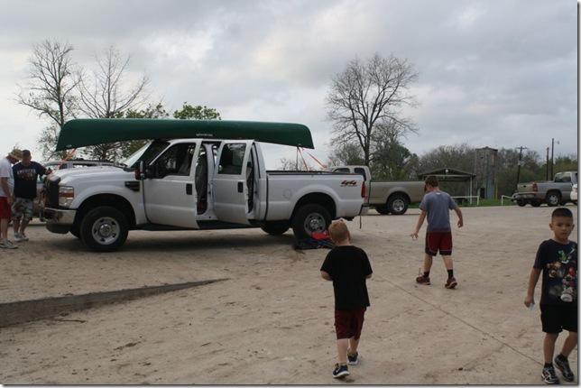 Group at Fishermans Park Bastrop TX Mar 13 2012