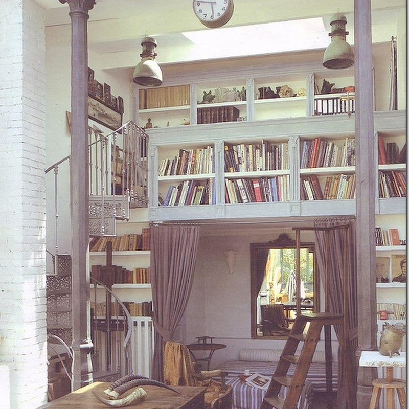 Loft Library Ideas