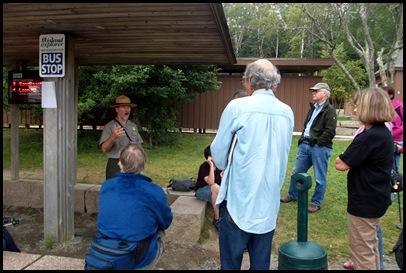 Focus on Acadia ranger talk 019