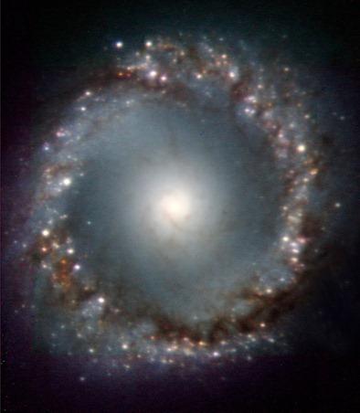 região central da galáxia NGC 1097
