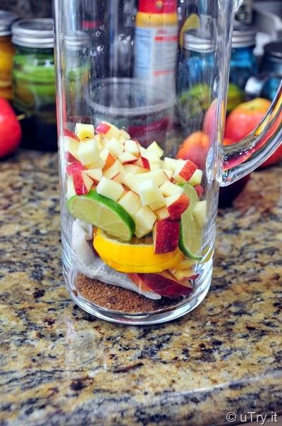 Fruit Tea With Tang Mixed Fruit Iced Tea