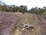 Mulu - The helipad beyond Camp 4 (copyright Dan Quinn / Royal Geographical Society (with IBG) September 2014)