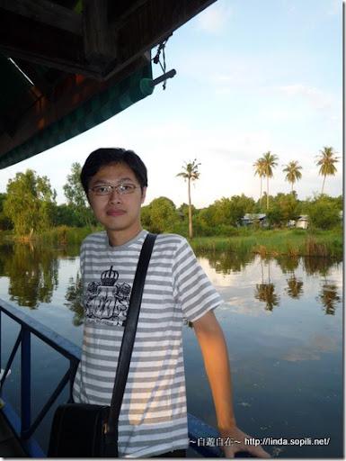 泰國芭達雅-搭竹筏