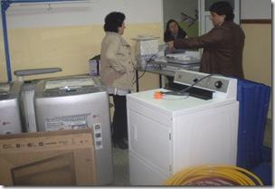 Zogbi destacó los talleres que se realizan en la institución
