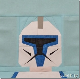 Paper Pieced Clone Commander