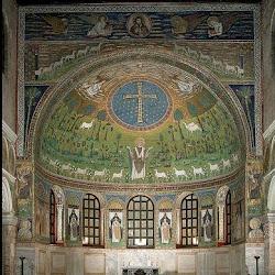 41 - Mosaico del ábside de San Apolinar in Classe