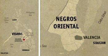 Valencia Location Map