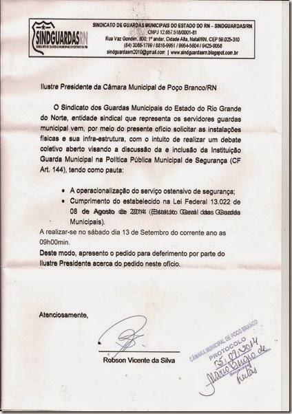 REQUERIMENTO CAMARA MUNICIPAL2014