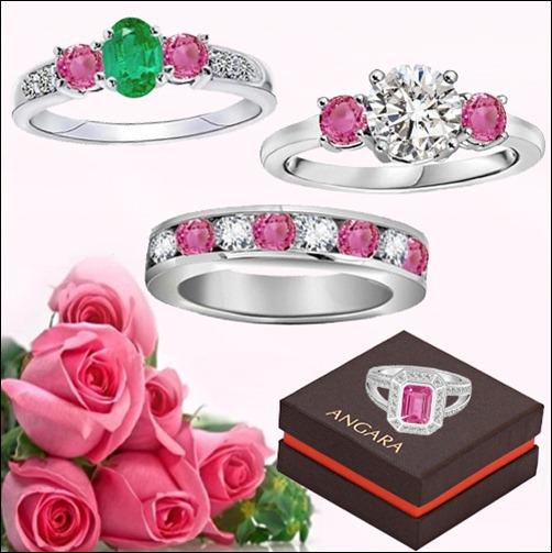 Designer Pink Sapphire Rings