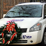 WBFJ at the 2009 Mocksville Christmas Parade