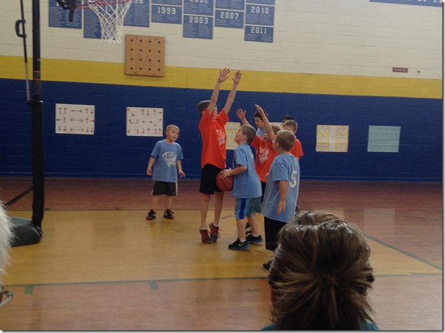 Elijah's Vision Bball game  2 2 13