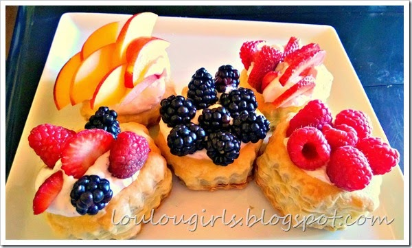 fresh fruit mini pies