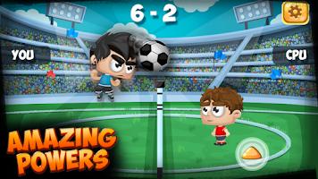 Screenshot of Football Tennis: World Cup
