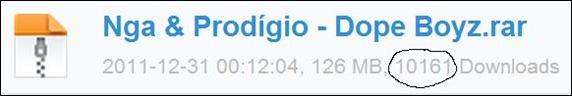 "Mixtape ""Dope Boyz"" de Nga & Prodígio Ultrapassa a Marca de 10Mil Downloads Em 1 Mês"
