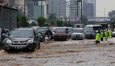 banjir bundaran hi jakarta