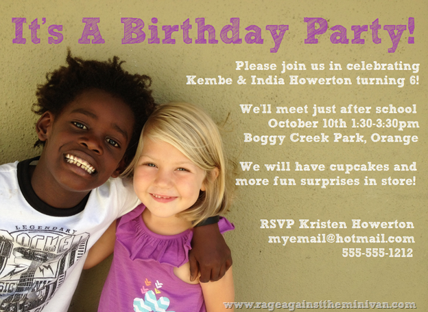 kembe india birthday invite public