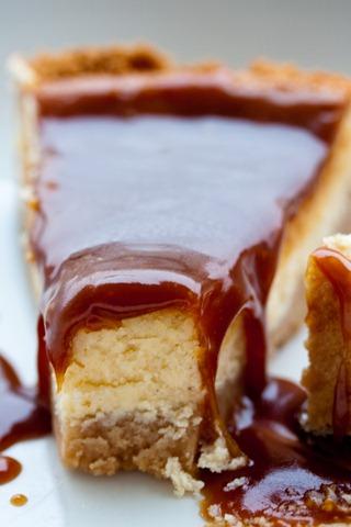 Caramel chesecake (1 von 1)
