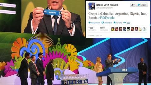 Video del supuesto fraude en el Sorteo del Mundial Brasil 2014