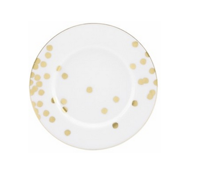 Kate Spade Ticker Tape Plate