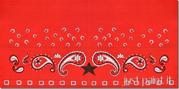 bandana printable A
