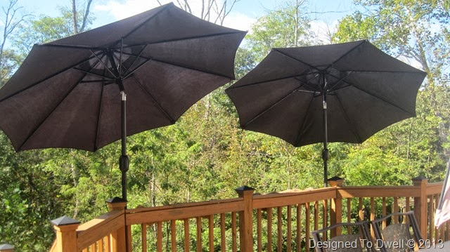 Deck Mounted Umbrellas