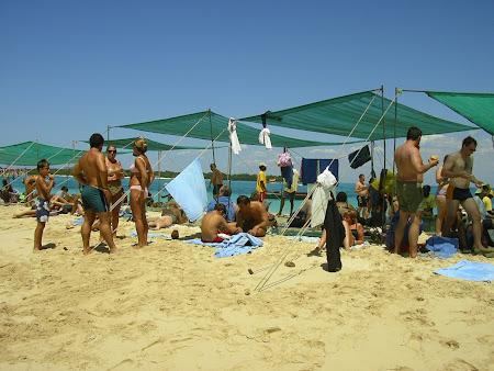La plaja, in Zanzibar