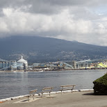 industrial part of Vancouver in Vancouver, British Columbia, Canada