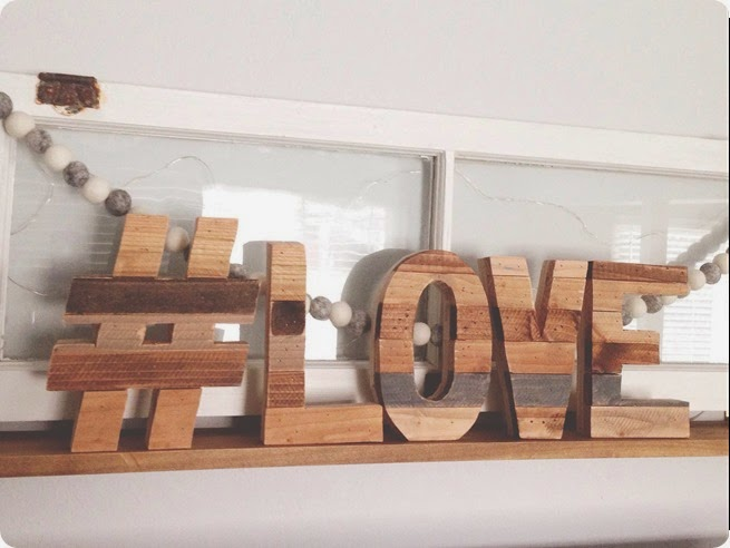 love wood letters from the rugged heart