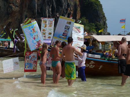 Fast food Railay in Krabi