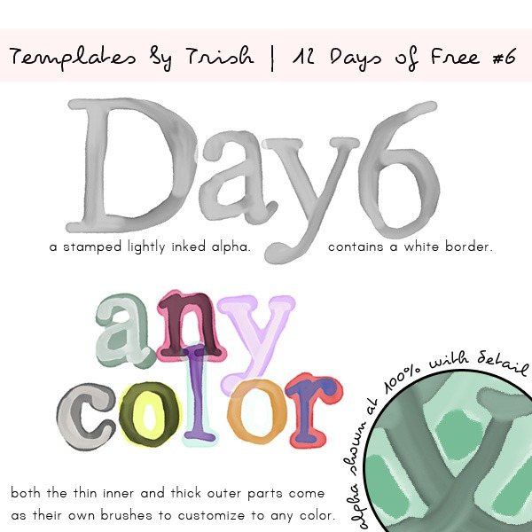 Day 6-Life as Their Mom-Templates by TrishPREVEIW
