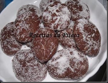 Broas de chocolate