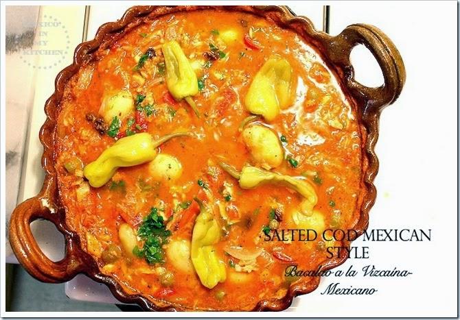 Bacalao Mexicano a la Vizcaína | Authentic Mexican Food Recipes
