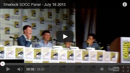 sherlock comic con panel, sdcc 2013