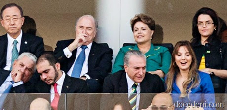 Dilma na Copa